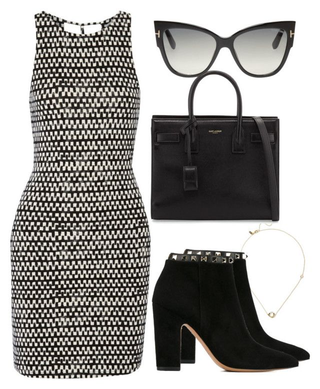 Sem título #3793 by beatrizvilar on Polyvore featuring polyvore fashion style Tart Valentino Yves Saint Laurent Elizabeth and James Tom Ford clothing