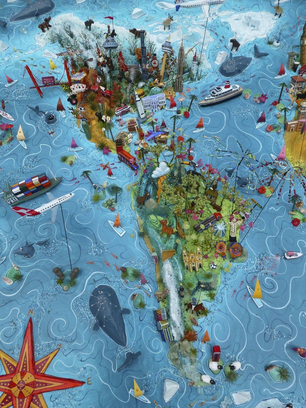 Sara Drake World Map Detail
