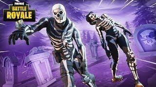 New Purple Glow Skull Trooper Skin Fortnite Battle Royale
