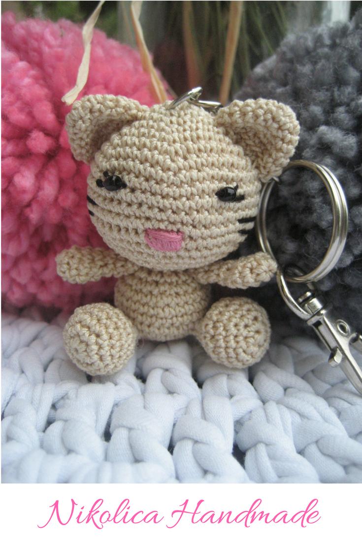 Tiny cat amigurumi pattern (With images) | Cat amigurumi, Crochet ... | 1102x735