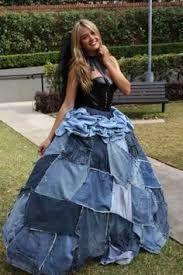 5b91a7e51526 Denim Wedding Dress