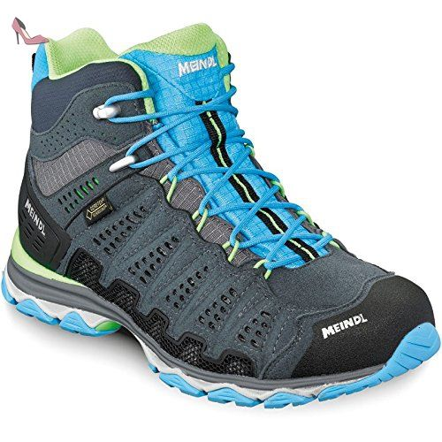 Keen Femme terradora Mid Waterproof Walking Bottes Gris Bleu Sports Outdoors