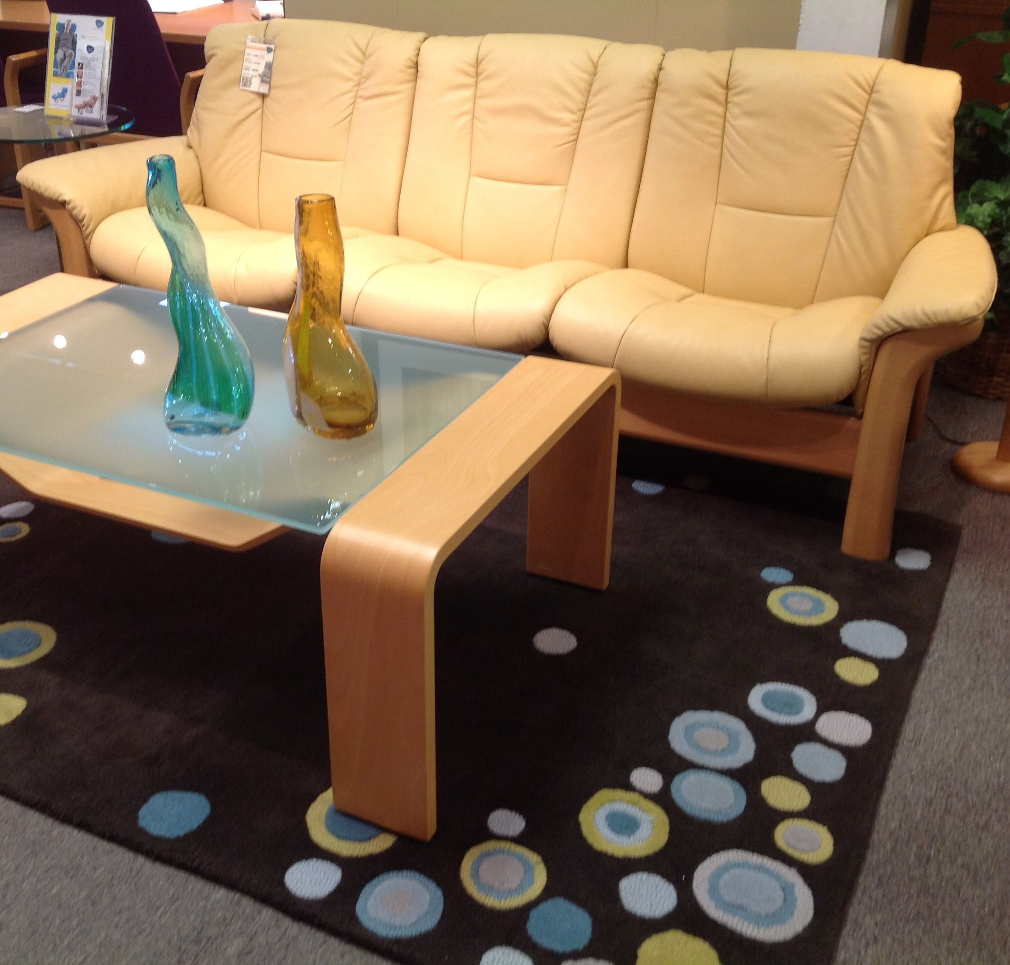 Buckingham Sofa with Pegasus Coffee Table Available at Scanhome