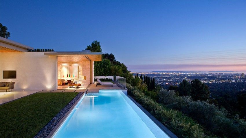 Trousdale Residence is a home designed by Studio William Hefner. It is located in Trousdale Estates, a neighborhood of Beverly Hills, California, USA.