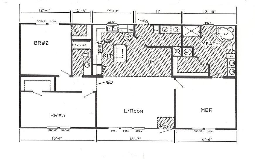 double wide floor plans 2 bedroom. 2 bedroom double wide mobile home floor plans ~ http://modtopiastudio.com e