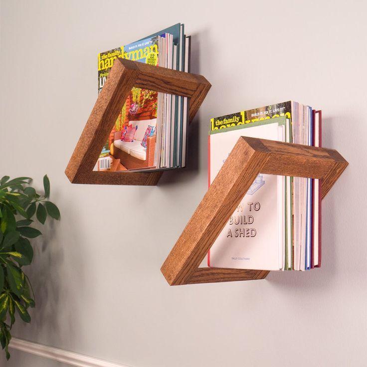 Photo of Saturday morning workshop: How to build floating bookshelves – furnishing ideas