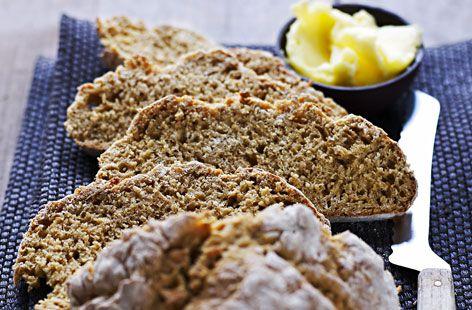 Irish Wheaten Bread Recipe Tesco Real Food Food Food Recipes