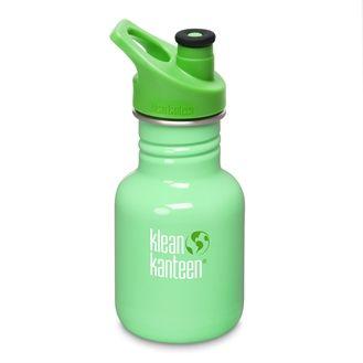 Klean Kanteen drikkedunk i stål, grøn