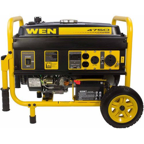 4750w Powered Portable Generator Gasoline Electric Start Power Emergency Kit With Images Portable Generator Portable Inverter Generator Portable Power Generator