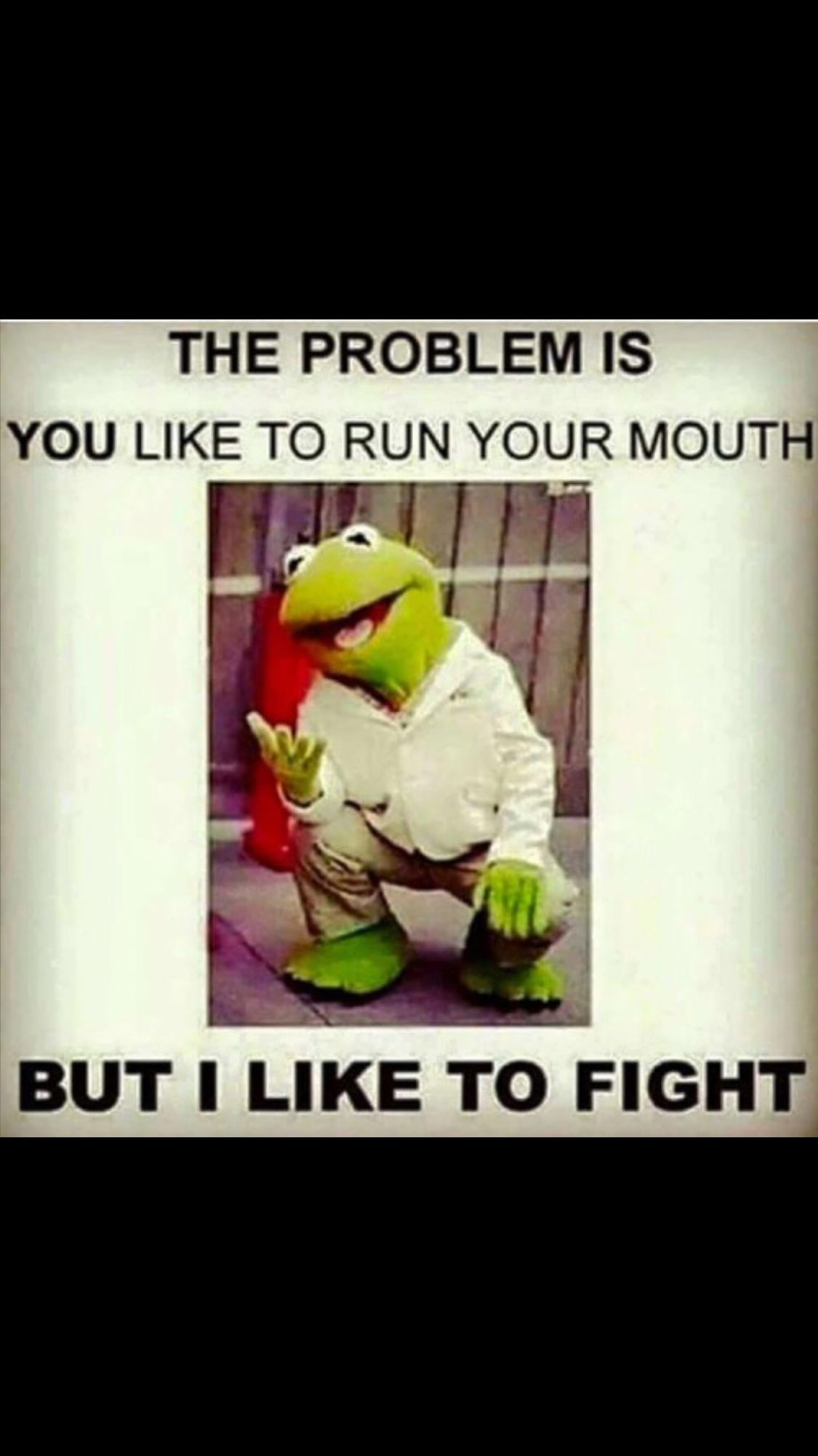 When did Kermit become such a bad ass?