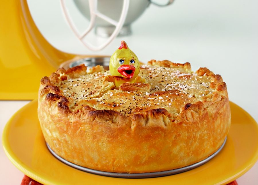 Chicken and vegetable pie food processor recipes