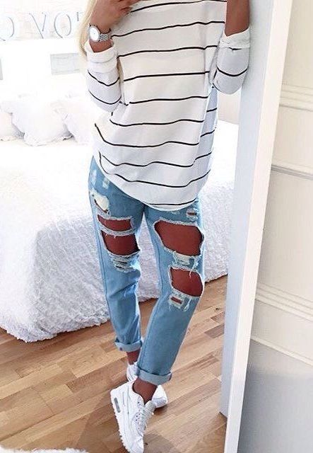 best website df485 2c1b8 Casual   Chic   clothes   Pinterest   Fashion, Fashion outfits and ...
