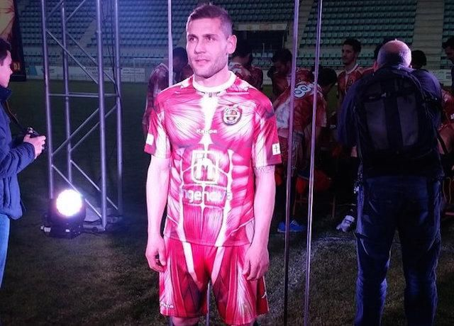 Soccer Club Debuts Crazy Flayed-Body Uniforms
