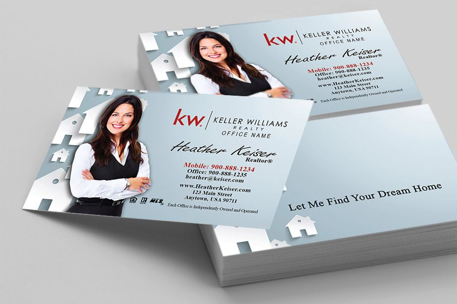 Online Printing Business Cards Business Printing Brochures Flyers Envelopes P Keller Williams Business Cards Colorful Business Card Business Cards Online