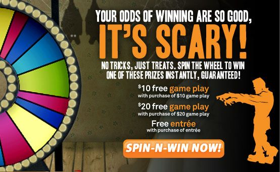 Saving 4 A Sunny Day: Dave And Busters Spin To Win Game