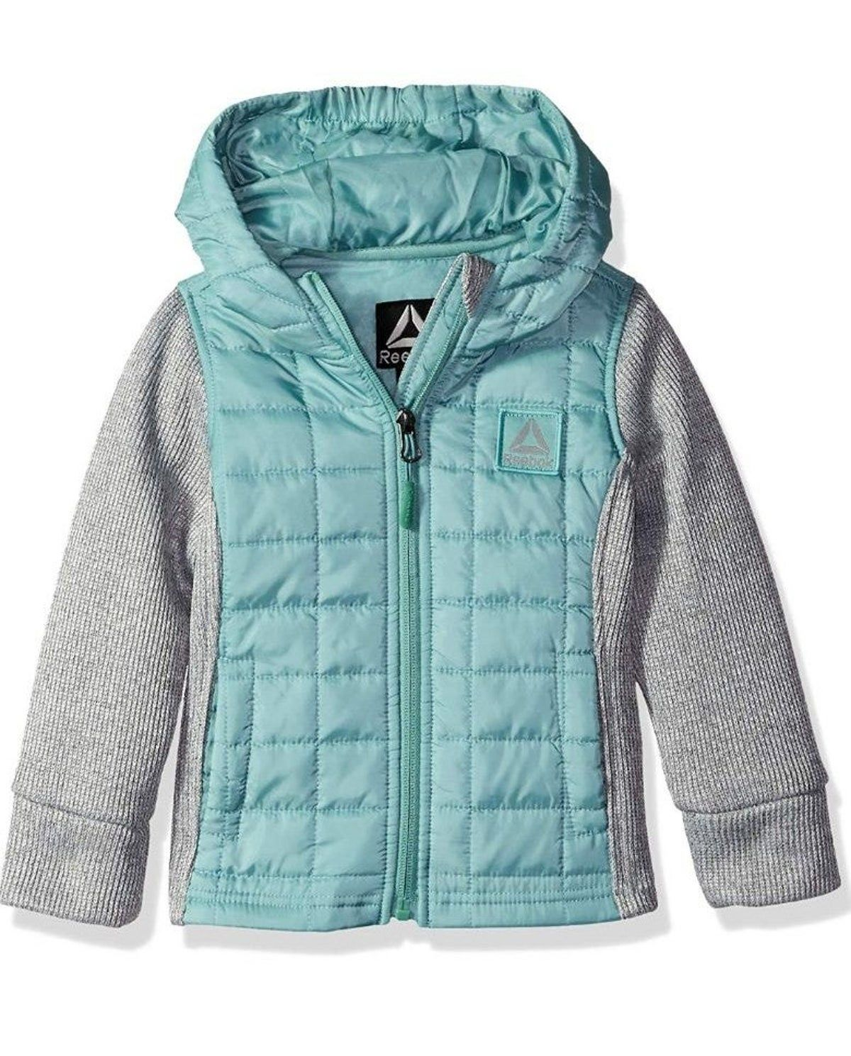 Reebok Girls Active Spyder Fleece Bubbl Outerwear Jackets Jackets Girls Vest [ 1489 x 1200 Pixel ]