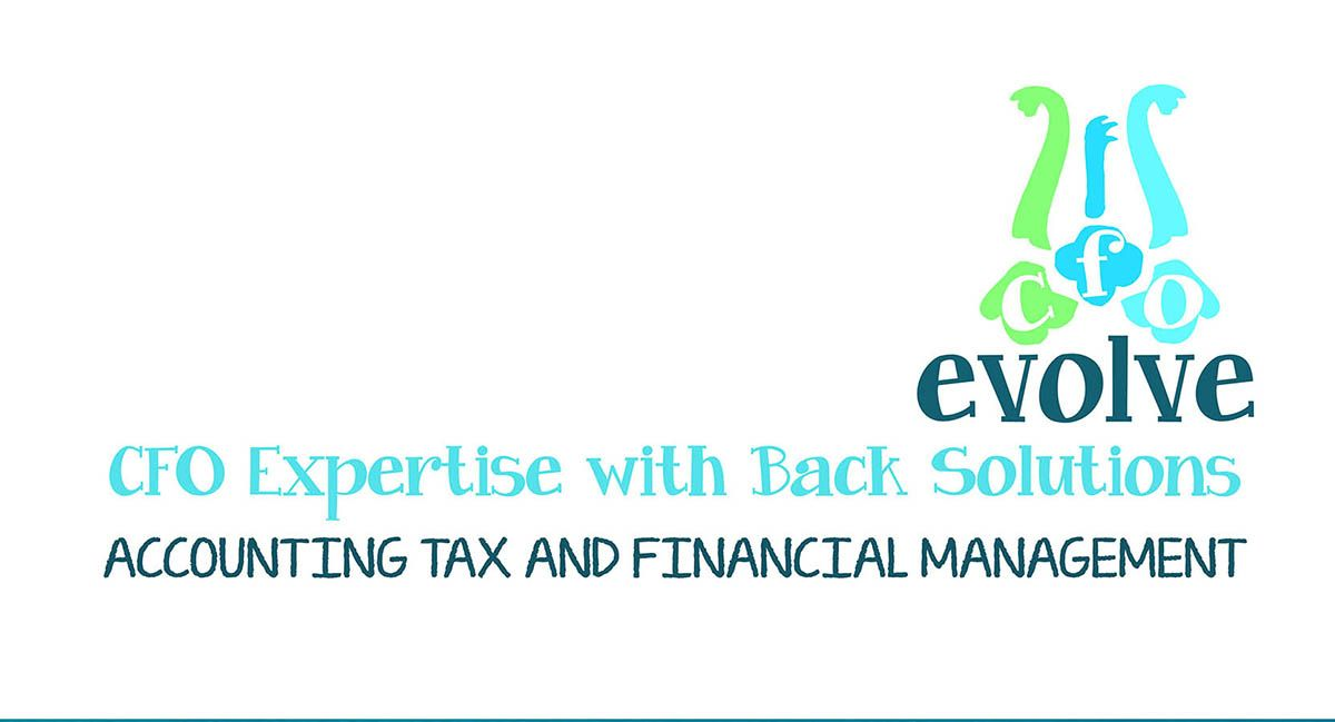 CFO Evolve Logo redesign  Business Card Proposal ©2014