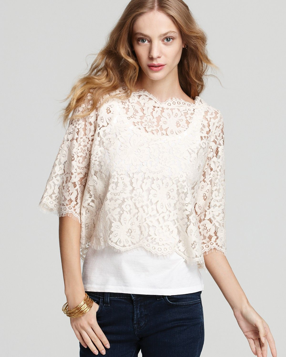 d41501bdfbd5d Joie Top - Elvia Lace