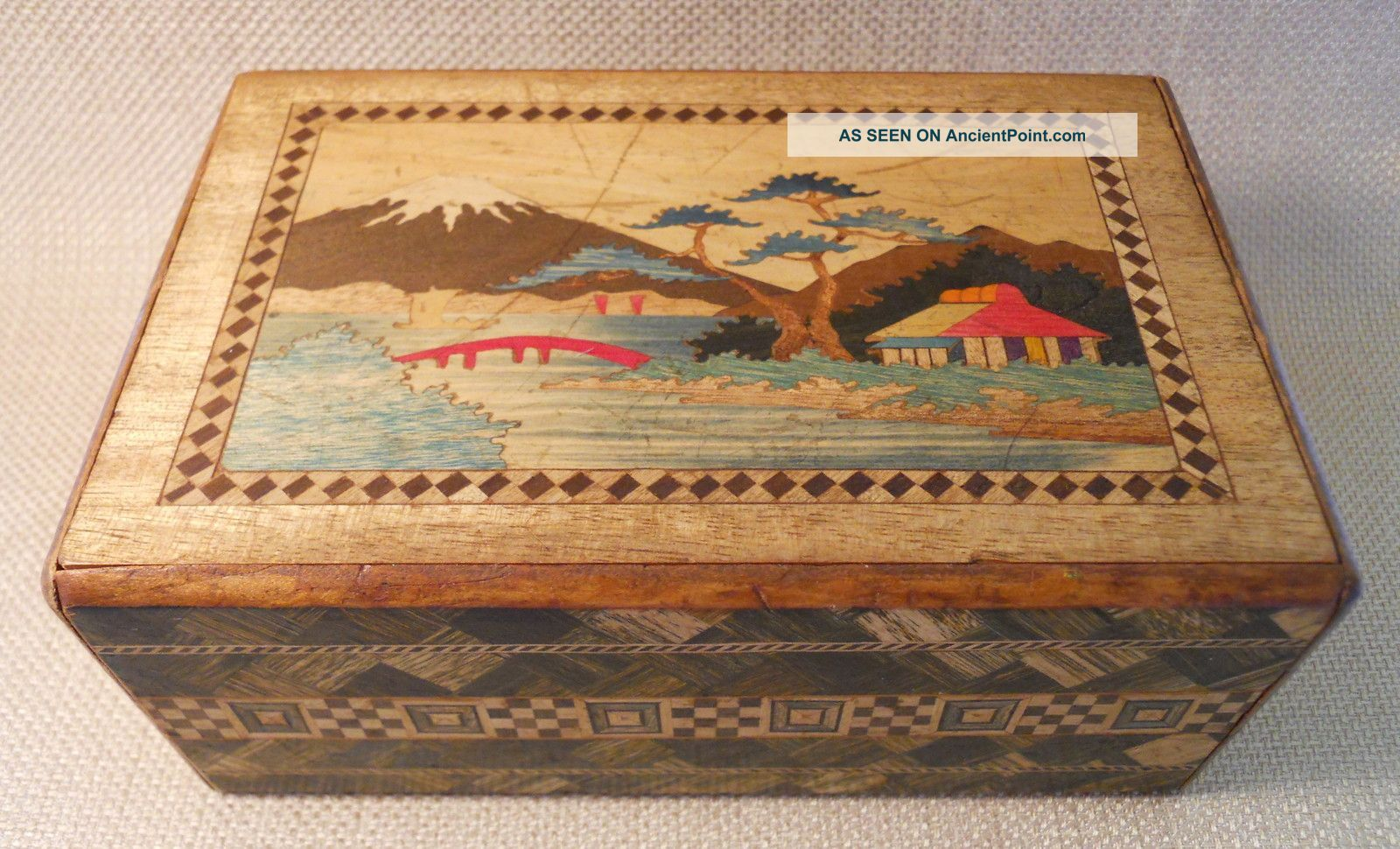 We Have A Few Vintage Japanese Puzzle Boxes Available For Sale