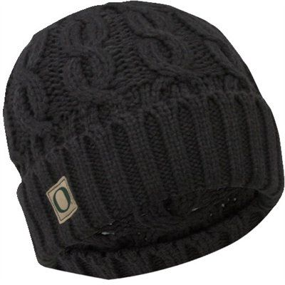 94c133fcb6feb Nike Oregon Ducks Women s Cable Knit Beanie - Charcoal Really want a new  beanie for winter
