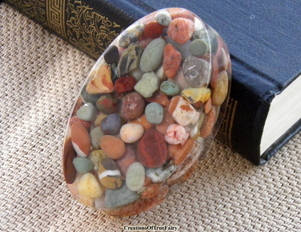 Stone paperweight Mens gift Anniversary gift for husband