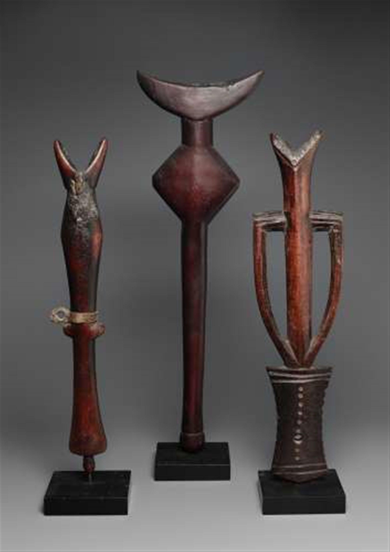 MaliTHREE MOSSI flautas, 1045 Subasta de África y de Oceanía Arte, Lote 96