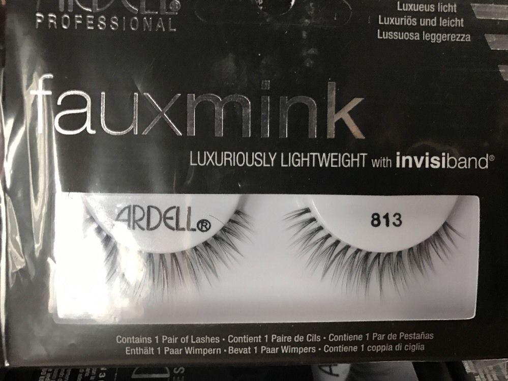 a2e8c2ffb60 Ardell Faux Mink - 813 Black Eyelashes Fake Lashes Fauxmink   False ...