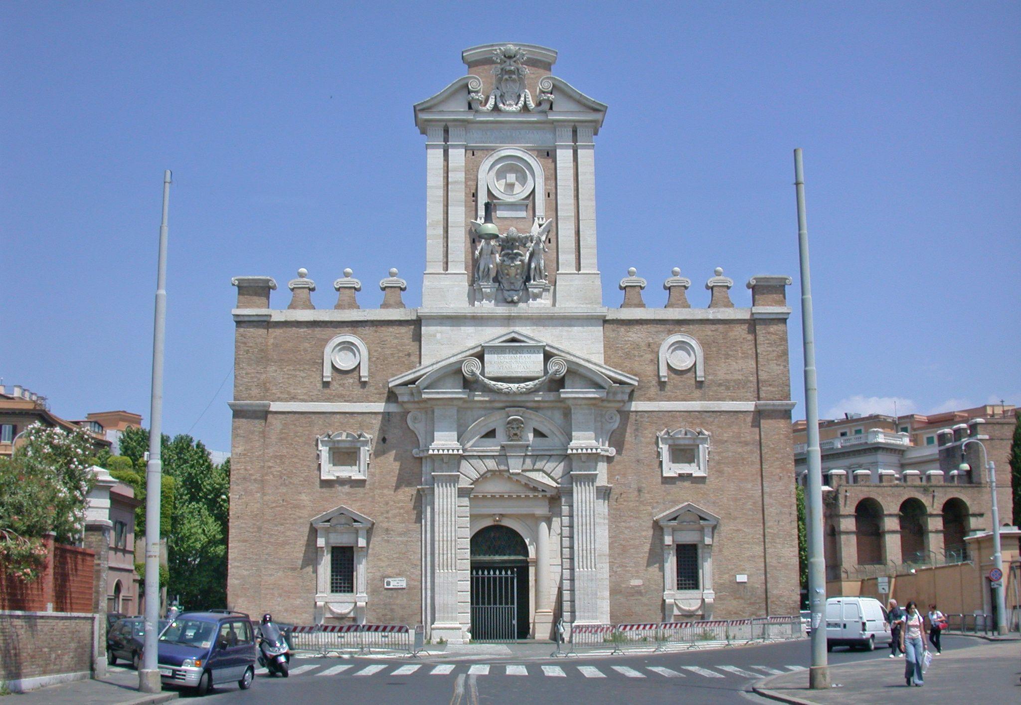 Porta pia rome 1550 built by michelangelo buonarroti - Hotel porta pia roma ...