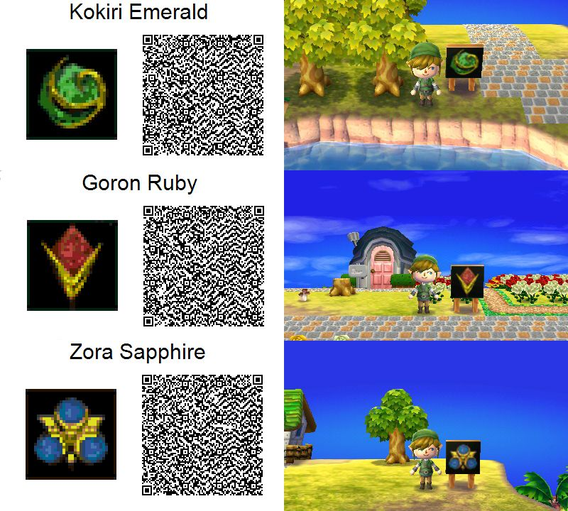 Animal Crossing New Leaf Zelda Qr Code Google Search Animal