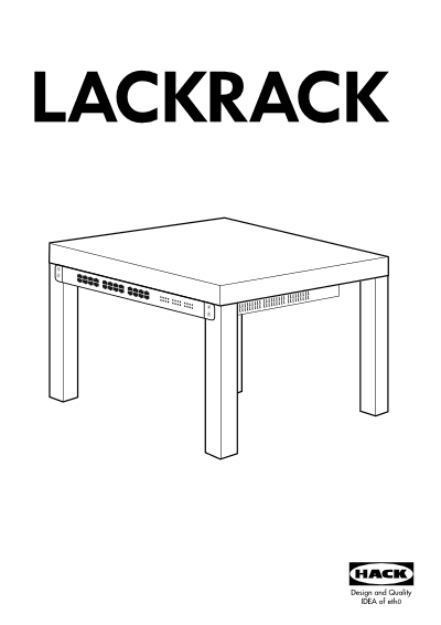 LackRack is the ultimate, low-cost, high shininess