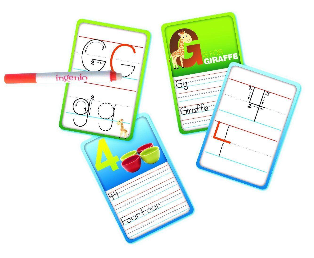 Amazon Smart Play Ingenio Read Amp Write Flash Cards