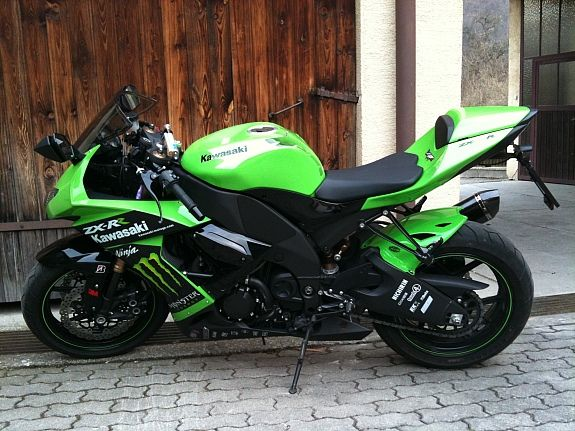 Kawasaki Zx10 R Ninja Monster Edition Racing Bikes Biker Love Sport Bikes