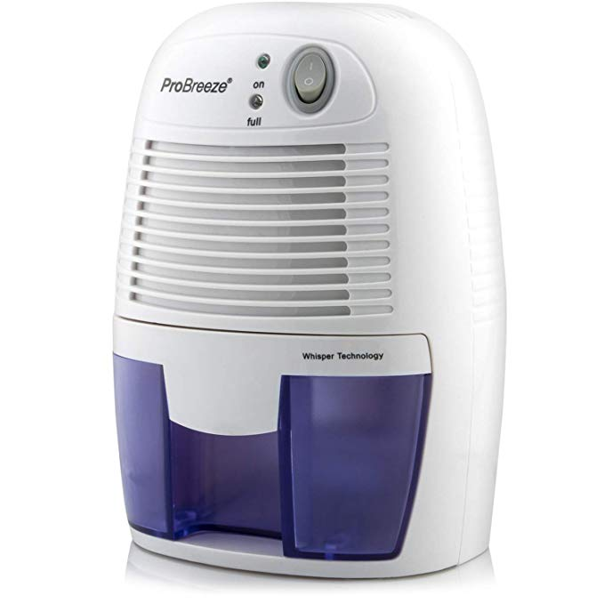 Amazon Com Pro Breeze Electric Mini Dehumidifier 1200 Cubic Feet 150 Sq Ft Compact And Portable For High Humid In 2020 Mini Dehumidifier Dehumidifiers Cubic Foot