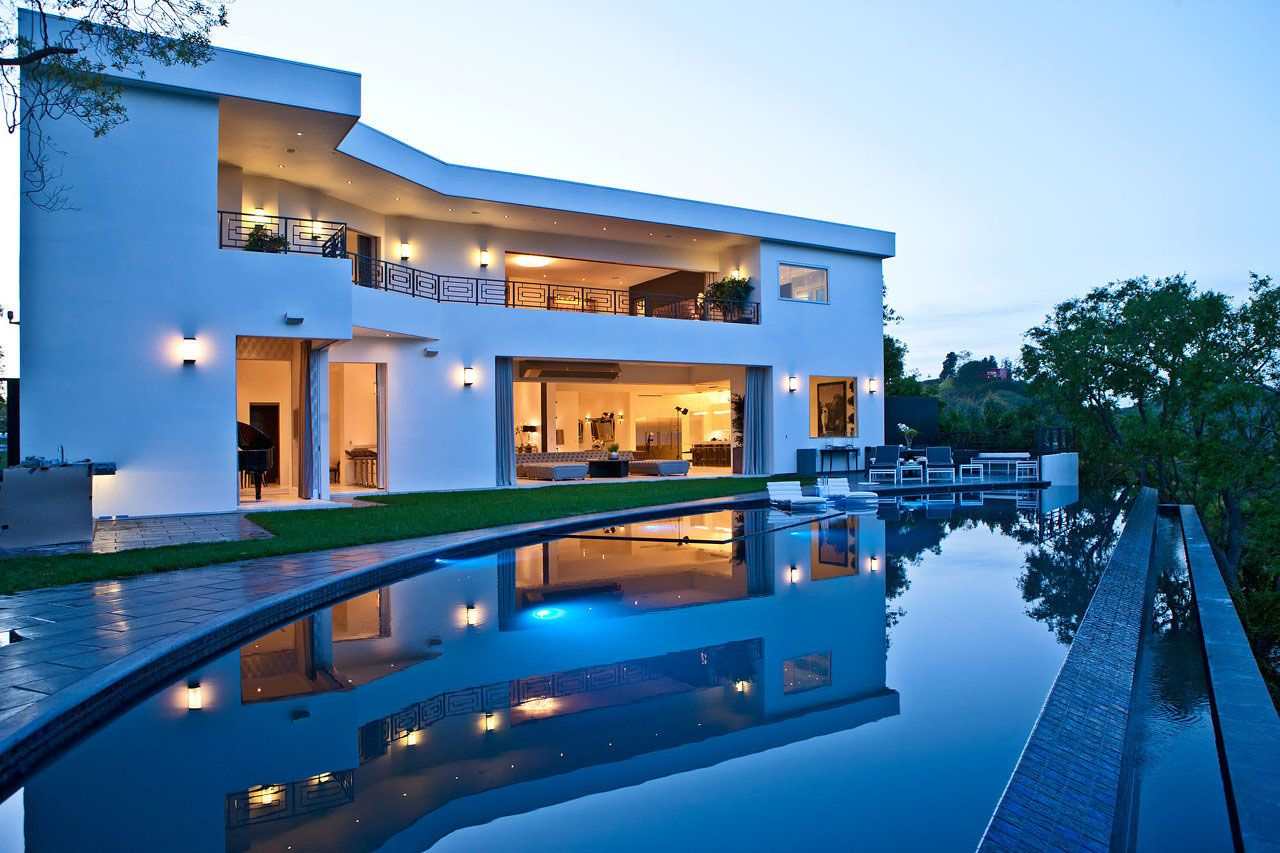Luxury House Pool luxury house with pool | glamorous contemporary living in los