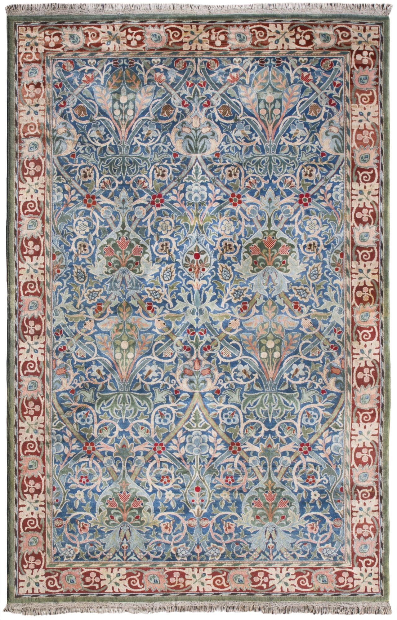 A William Morris Hammersmith Carpet Hand Knotted For Morris Co Designed By John Henry Dearle Lot William Morris Rugs On Carpet Carpet