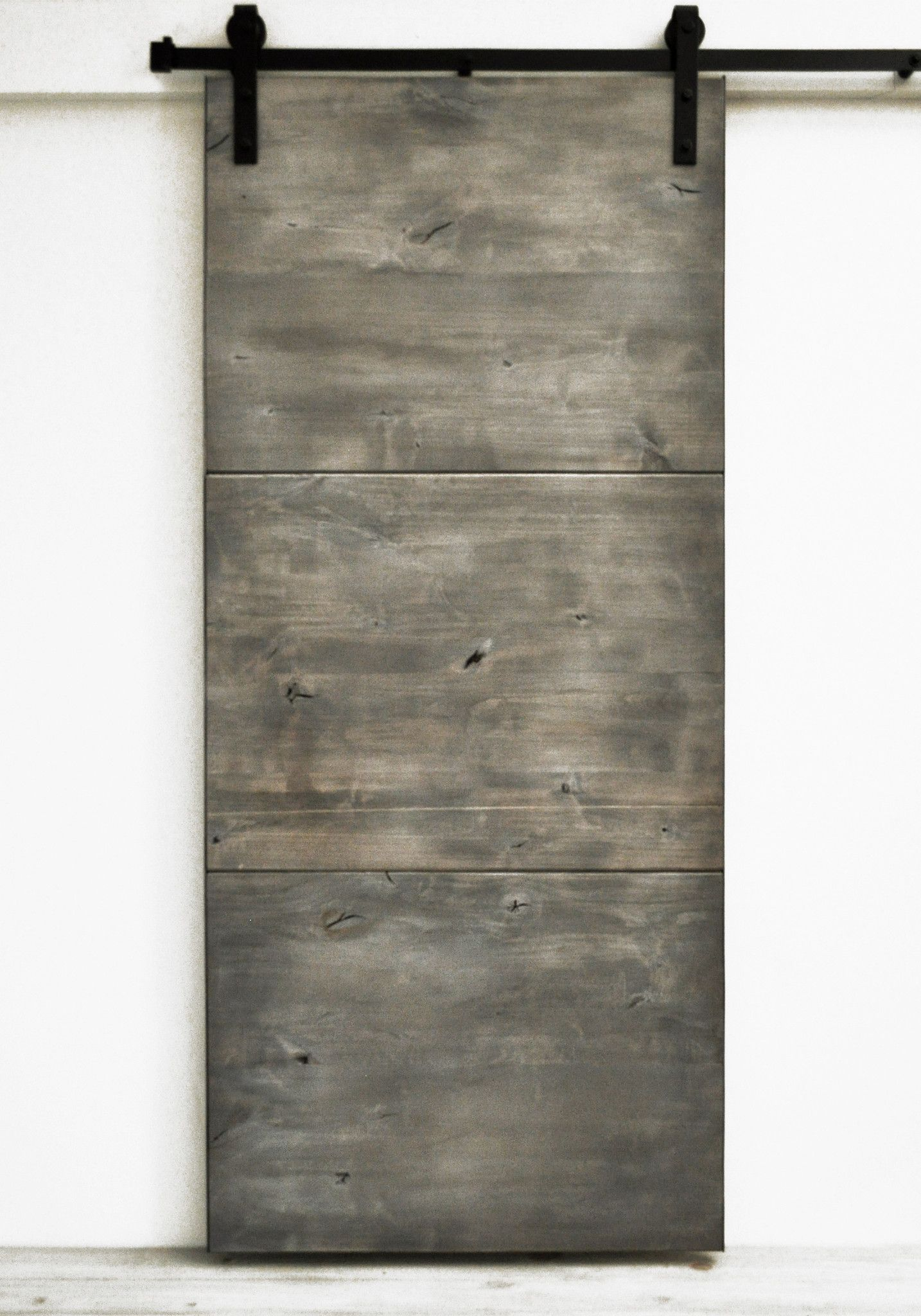 Barn Door Modern Slab   Silverwood More