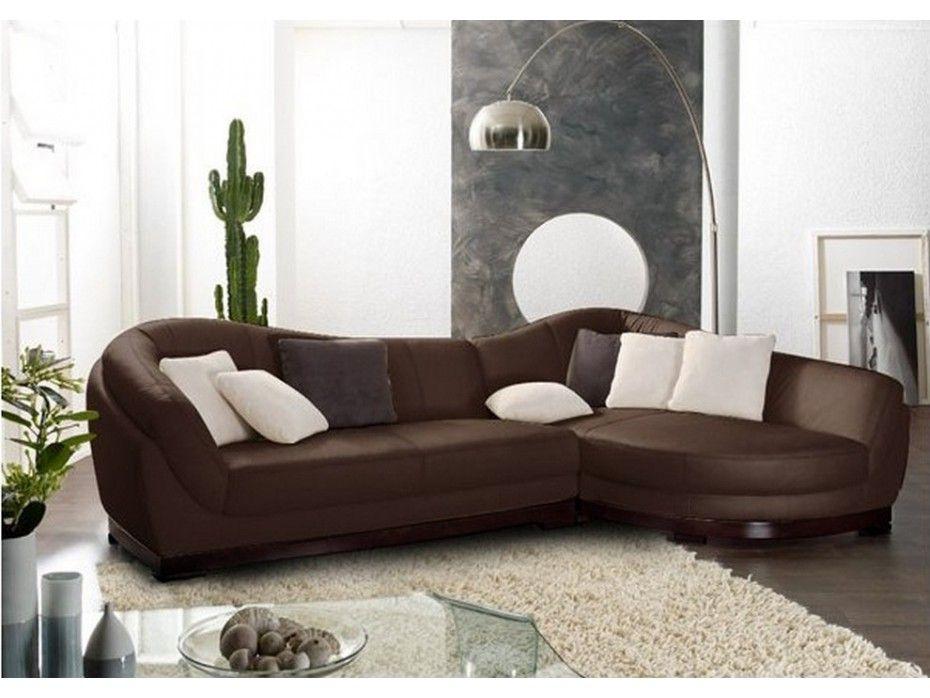 Modèle exclusif en cuir de buffle avec un superbe socle en bois ...