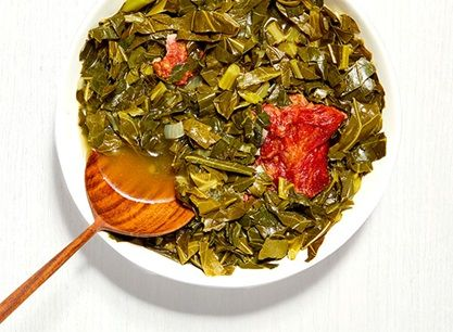 SouthernStyle Collard Greens Recipe in 2020 Southern