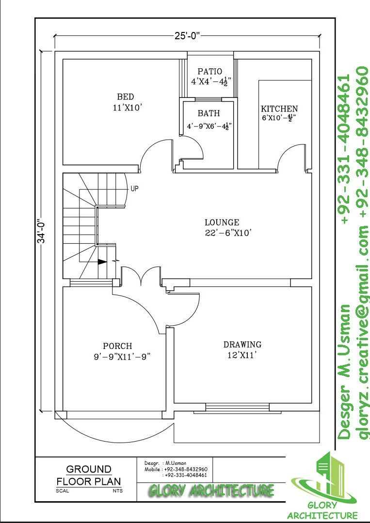4 Mara House Plan House Planing Drawing We Are Providing Drawings And Design Serves In Islamabad And Rawalpi 20x30 House Plans 2bhk House Plan My House Plans
