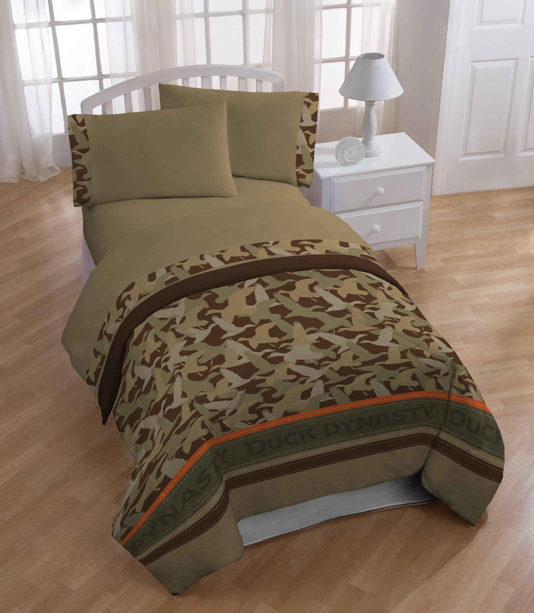 Exceptional Look At This Duck Dynasty Duck Dynasty Camo Stripe Sheet Set By Duck Dynasty