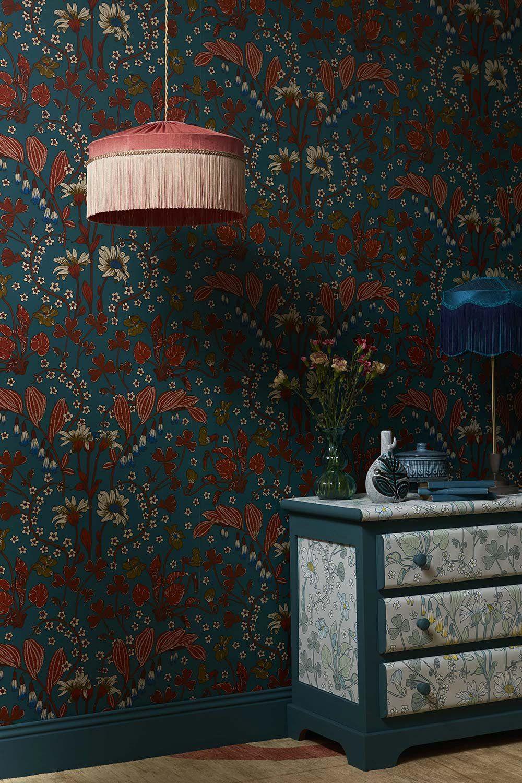 10 papiers peints fleuris pour des murs très flower power