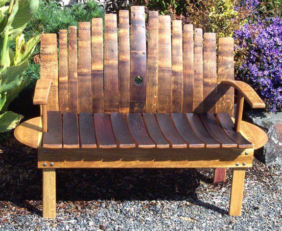 Wine Barrel Furnitures Repurposed Spaces N Places N Items