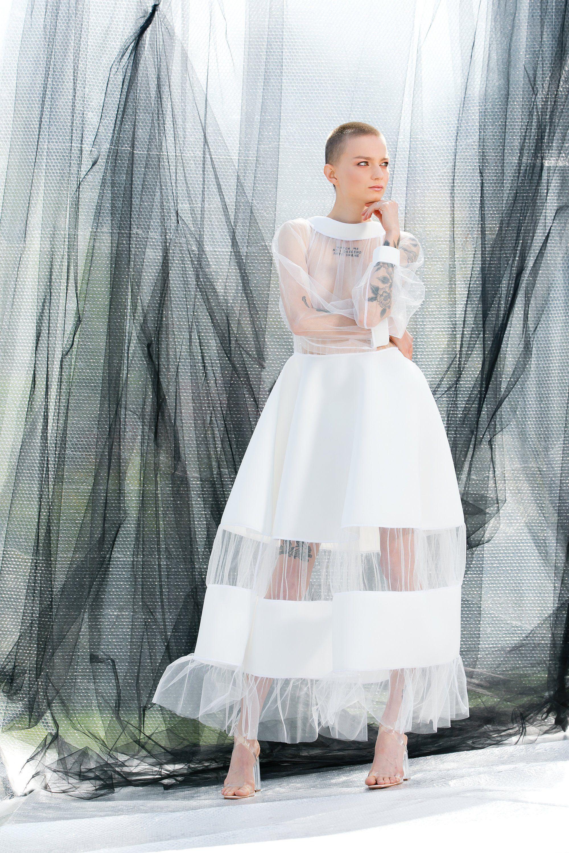 White Maxi Dress In Tulle Futuristic Neoprene Dress 125 446 Etsy White Dresses For Women White Maxi Dresses Neoprene Dress [ 3000 x 2000 Pixel ]