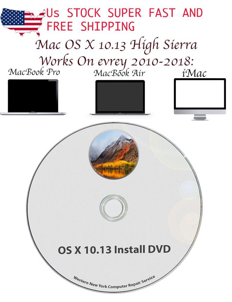Mac OS X 10.13 High Sierra Full OS Install Reinstall//Recovery Upgrade Downgrade.