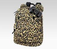 Hello Kitty leopard backpack!