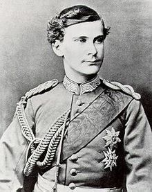 Mad King Otto of Bavaria (1848-1916) was the younger brother of Ludwig II. He was clinically mad, never able to rule himself.