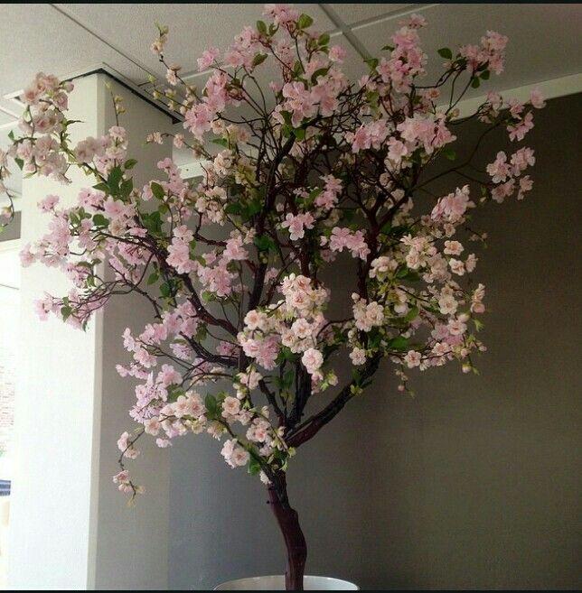 Zijde bloesemboom erker pinterest zijde decoratie for Decoratie nep snoep