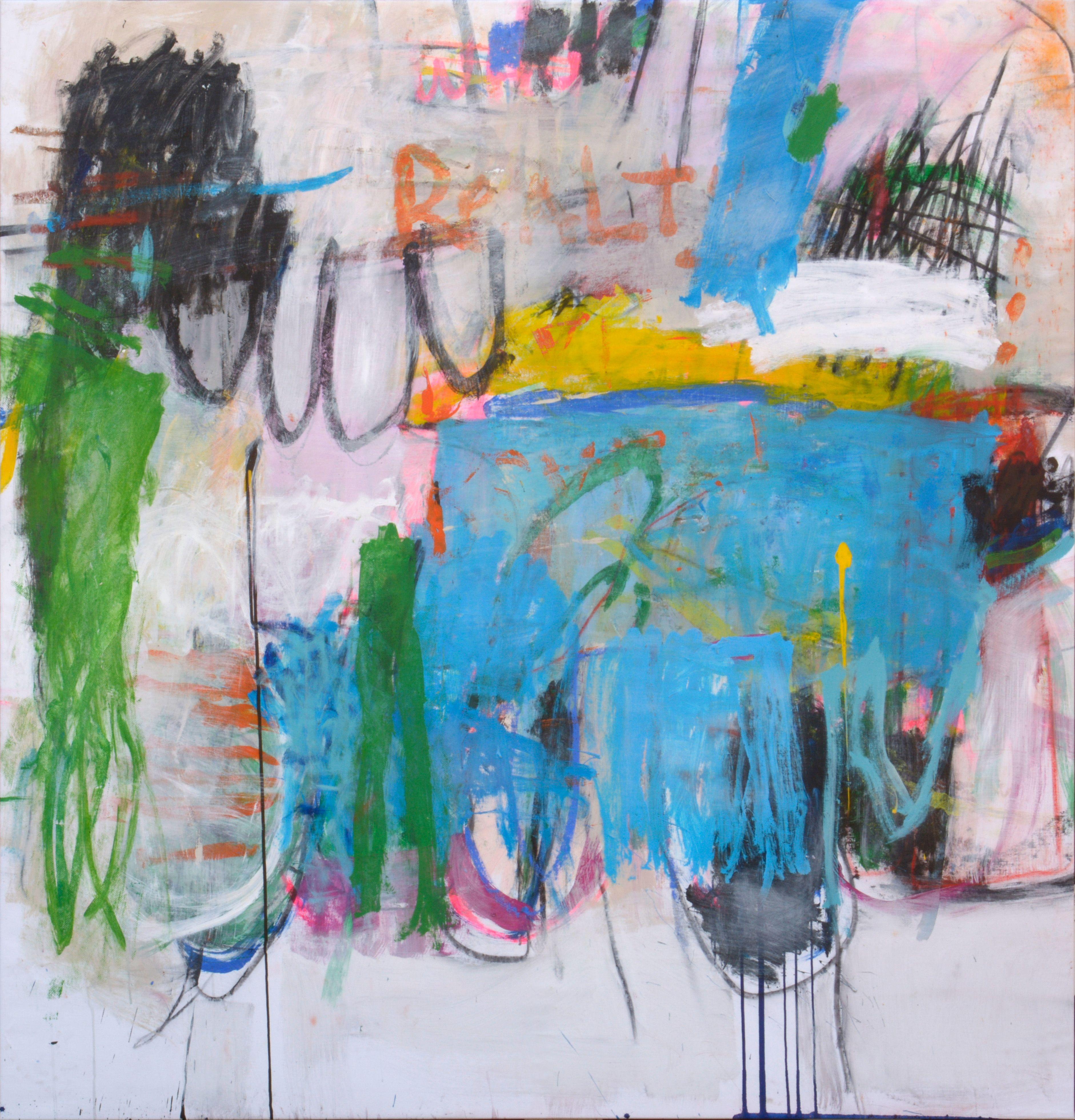 Handwritingfloridareality By Ashley Chase Andrews, Acrylic On Canvas,