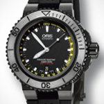 Monochrome Watches: Introducing the Updated Edition Oris Aquis Depth Gauge