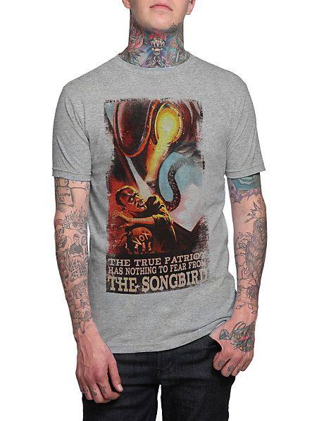 dddd37ddea02 BioShock Infinite Songbird T-Shirt 3XL   Hot Topic   Would You ...